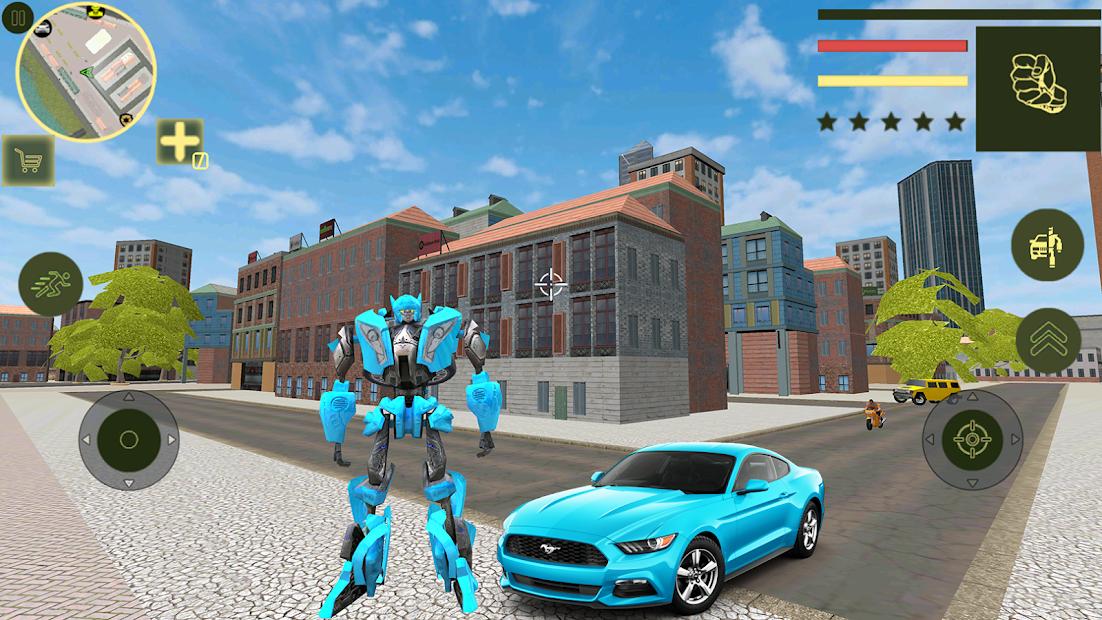 Flying Robot Car Transform – Transforming Games
