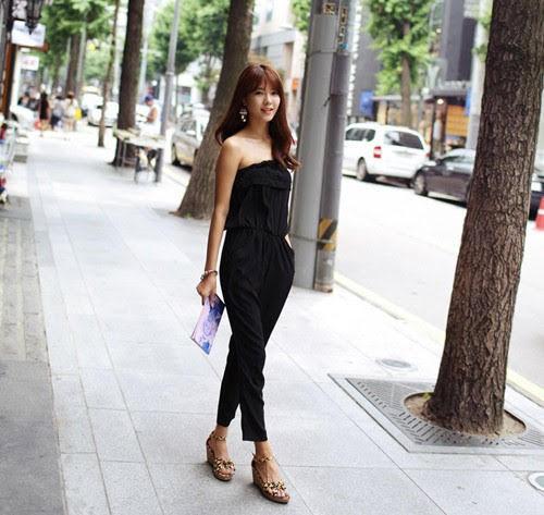 Mặc jumpsuit đi giày gì đẹp và phong cách cá tính nhất ?