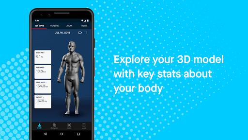 Naked u2014 3D Home Body Scanner 1.0.2 (2040) screenshots 2