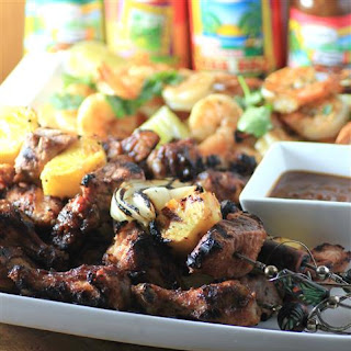 Mixed Grill #GrillWithGrace Chicken Drumettes