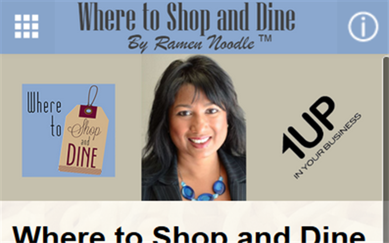 Where to Shop and Dine- screenshot
