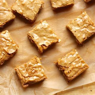 Butterscotch Blondies.