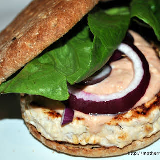 Chipotle Chicken Burgers with Pace Salsa.