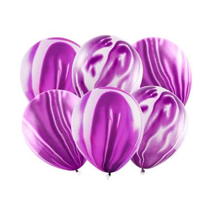 Ballonger - Marmor violett