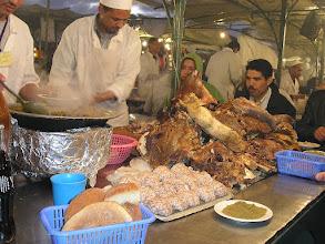 Photo: Głowizna i móżdzek - potrawa główna