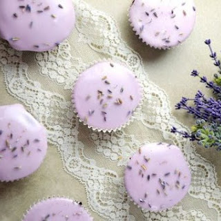 Lavender Cupcakes with Buttercream Frosting Recipe