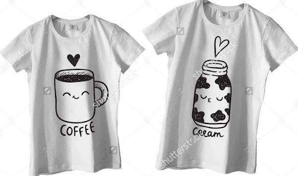 936d473a6a Couple Shirt Design by Redodaso poster Couple Shirt Design by Redodaso  poster ...