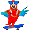 Funny Talking Parrot icon