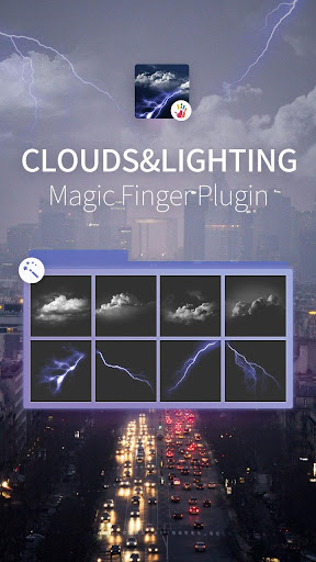 Cloud Light Magic FingerPlugin