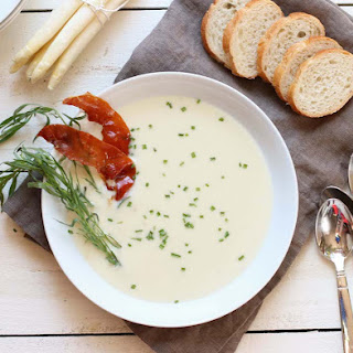 White Asparagus Soup.