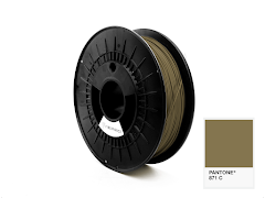 FiberForce Pantone (R) 871 C PLA Filament - 2.85mm (0.75kg)