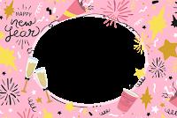 molduras-para-fotos-ano-novo-rosa