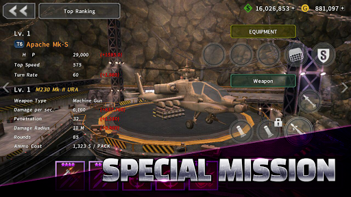GUNSHIP BATTLE: Helicopter 3D screenshot 11