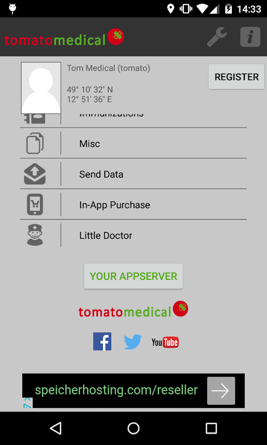 tomatomedical- screenshot