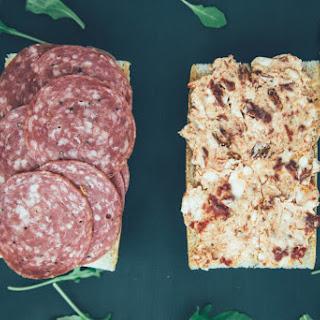 Picnic Salami Sandwiches.
