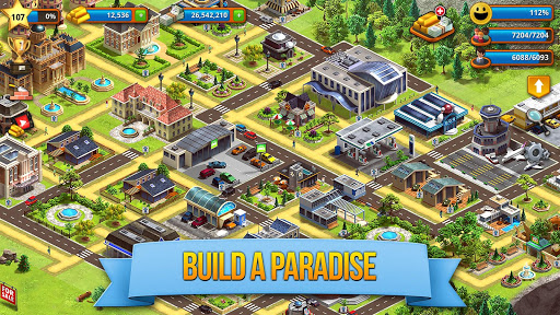 Tropic Paradise Sim: Town Building City Game 1.4.4 screenshots 2