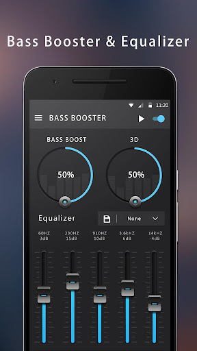 Bass Booster & Equalizer - screenshot