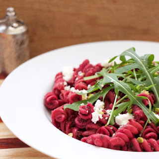 Beets Pesto Pasta