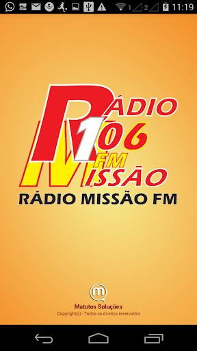 Rádio Missão FM 106 3