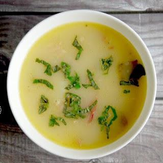 Creamy Paleo Ham and Potato Soup