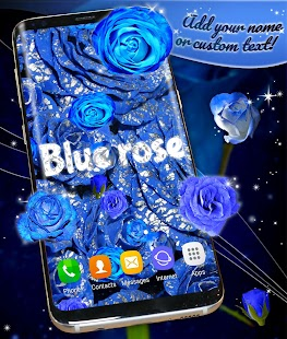 Blue Roses Live Wallpaper - náhled