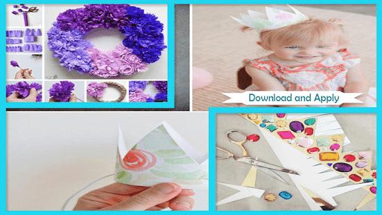 Pretty DIY Paper Crown Ideas - náhled