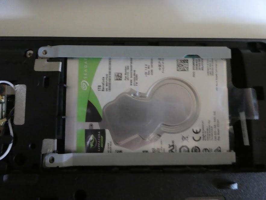 HDDを取り替える