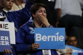 Image result for images for bernie's supporters' against dnc