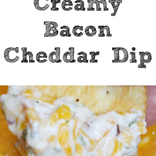 Creamy Cheddar Bacon Dip Recipe