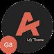 [UX8] Andromeda Dark LG V50 G8 V40 V30 Pie