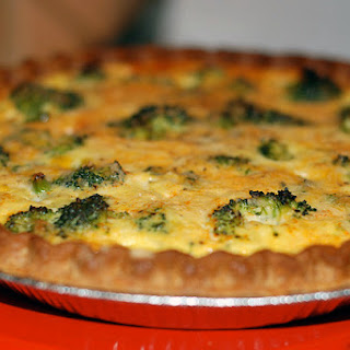 Broccoli and Cheese Quiche – Meatless Monday Recipe