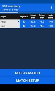 Darts Scoreboard - náhled