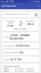 All Trains Info & PNR Status – IRCTC Railway App Download For Android 3