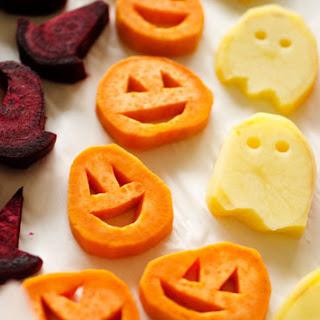 Roasted Halloween Vegetables