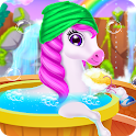 Rainbow Baby Unicorn - My Favorite Pet icon