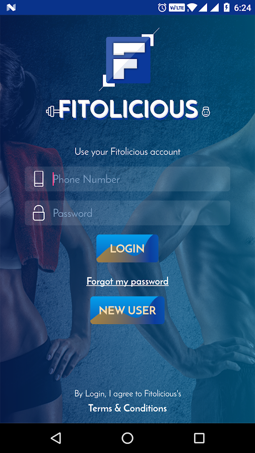 Fitolicious- screenshot