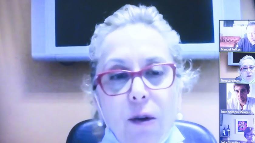 La enfermera de Torrecárdenas María Luisa Molina.