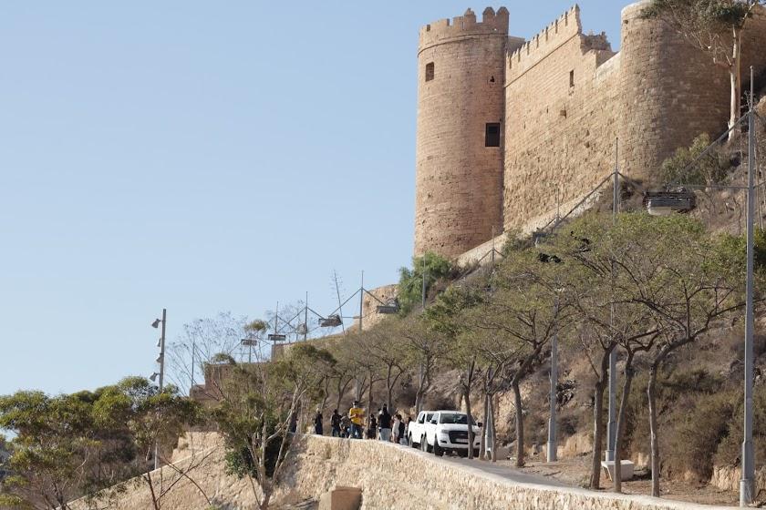 El paso de la serie 'Jaguar' por Almería