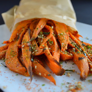 Japanese-Spiced Sweet Potato Fries.