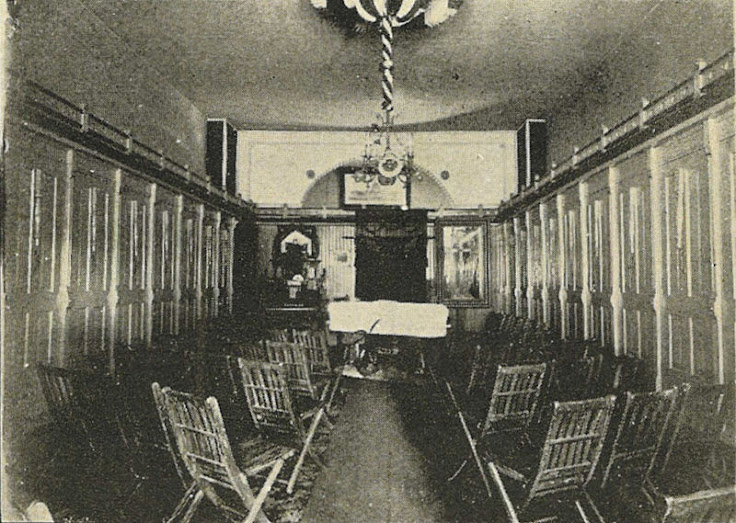 The E.R. Butterworth funeral home chapel.