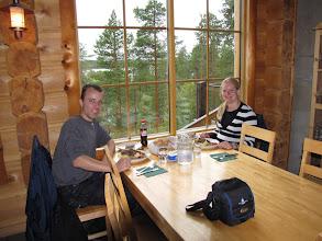Photo: Terug bij het Basecamp aangekomen kregen we een lekker middagmaal geserveerd door Satu.