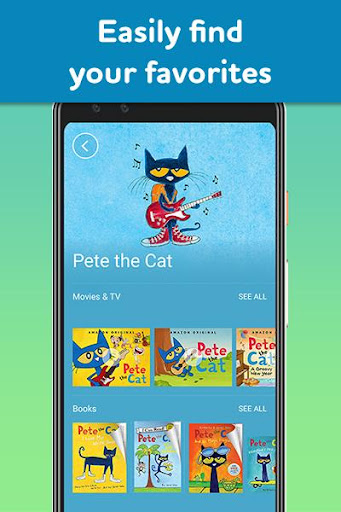 Amazon FreeTime Unlimited: Kids Shows, Games, More 2.0.0.203376 screenshots 5