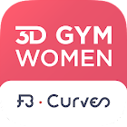 3D GYM WOMEN - FB CURVES icon