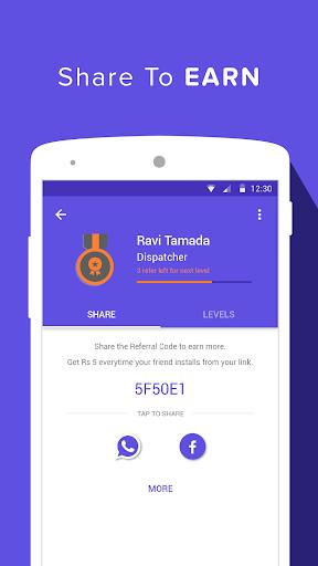 Earn Talktime - Grappr screenshot