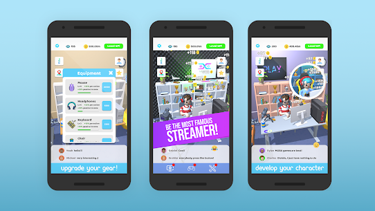 Idle Streamer Mod Apk 1.22 (Unlimited Money) 6
