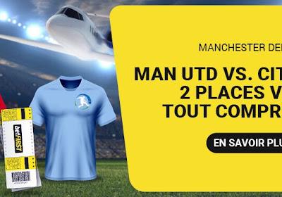 Offre incroyable: assistez gratuitement et en VIP (!) au derby de Manchester !