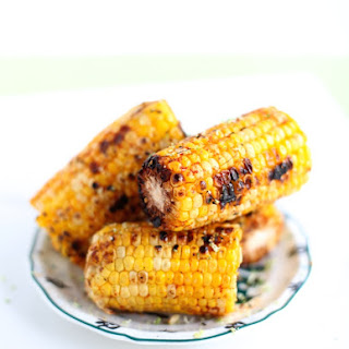Smoky Lime Grilled Corn-On-The-Cob