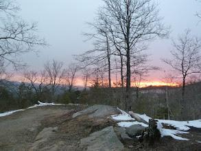 Photo: Beautiful sunset from Goss Park