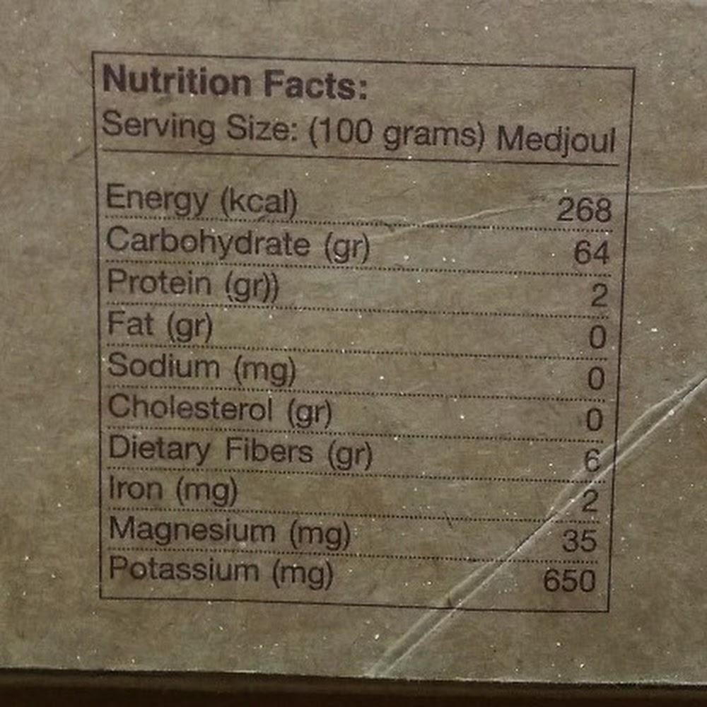 Mehadrin Organic Medjoul Dates 5kg