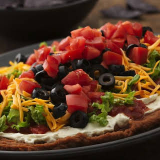 Seven-Layer Bean Dip.